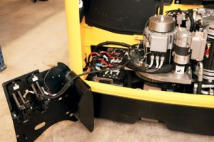 forklift truck servicing