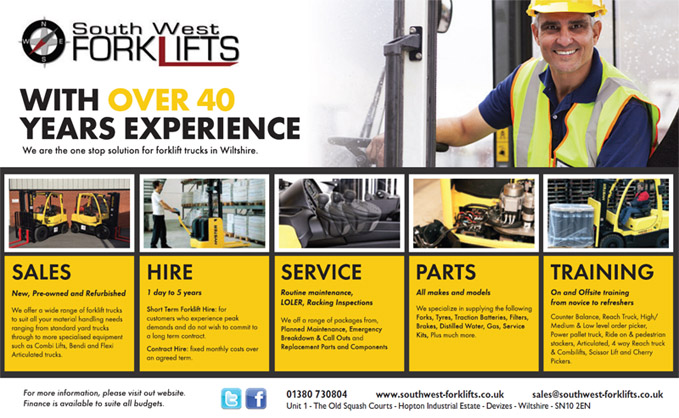 South West forklift training