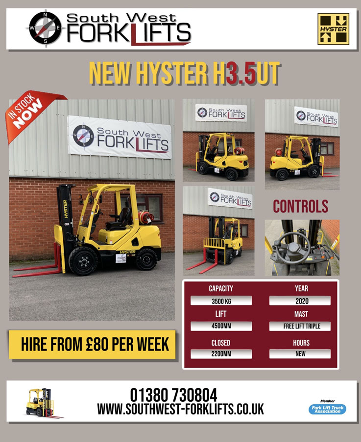 weekly forklift truck hire